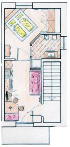 Floor plan of apartment − apartment St. Magdalena