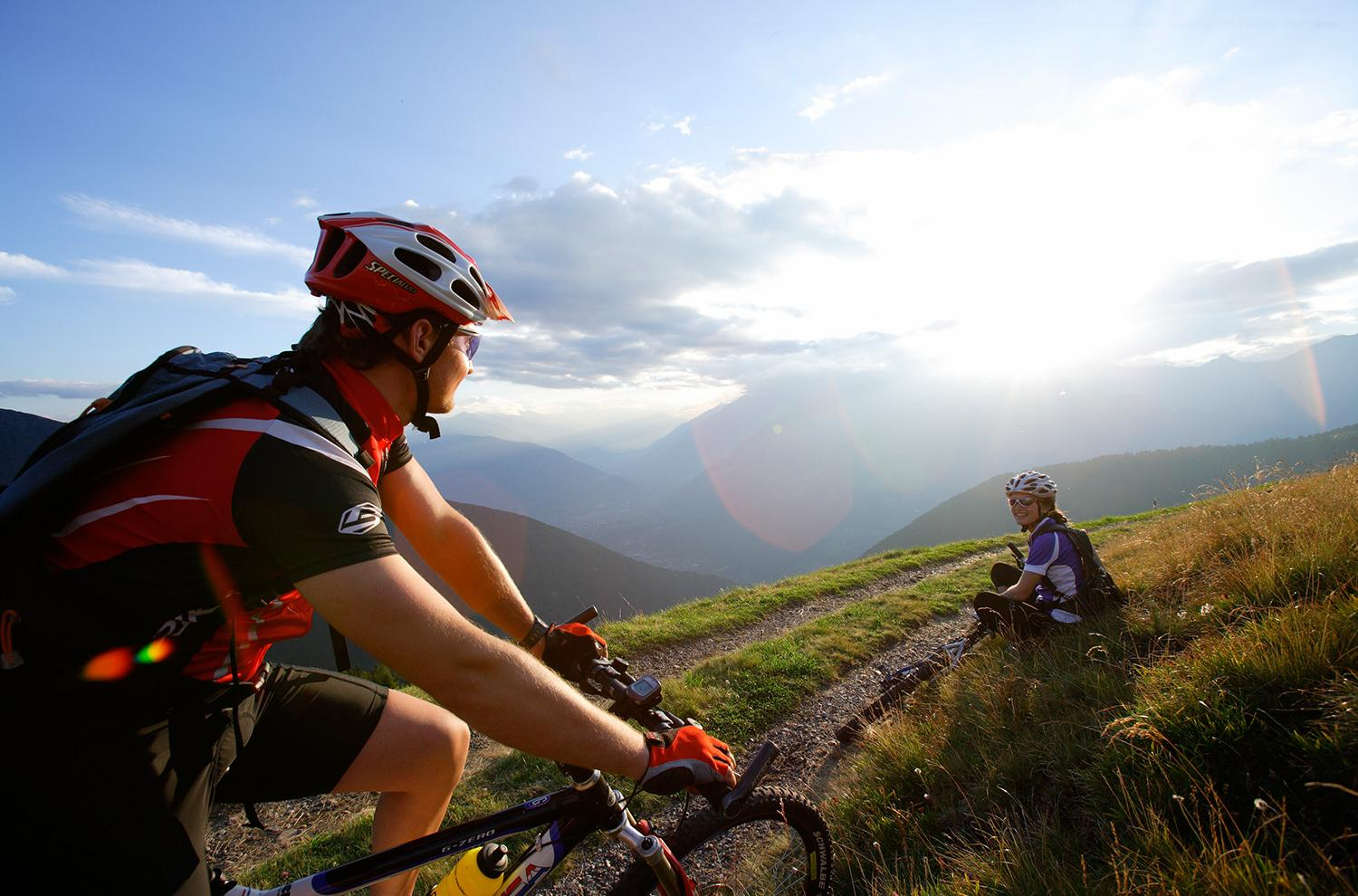 In bici e in mountainbike a Naturno